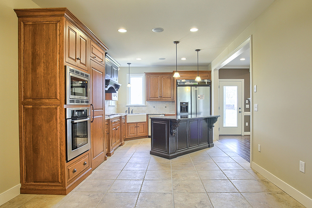 Open And Bright Kitchen Space Jon Warner Custom Built Homes Lancaster Pa